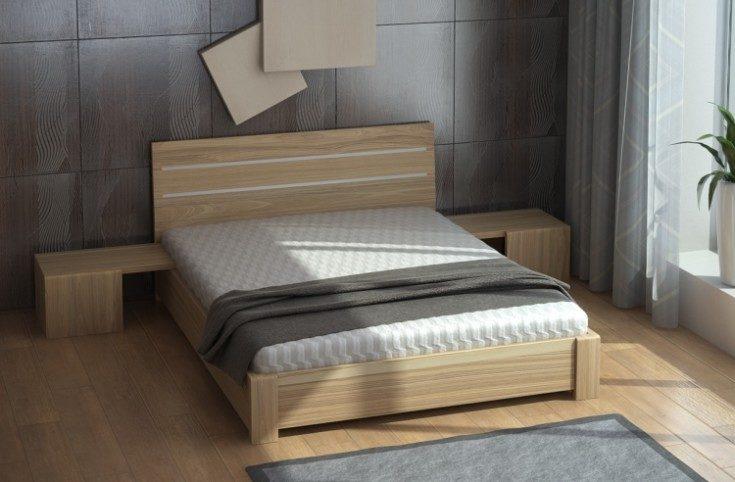 (+76 фото) Кровати из дерева 56 фото в интерьере