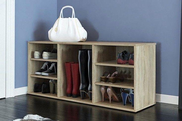 (+75 фото) Обувницы в прихожую с сиденьем и без 75 фото