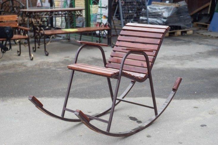 (+76 фото) Кресло качалка своими руками чертежи из дерева