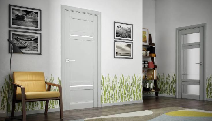 (+45 фото) Серые двери в интерьере