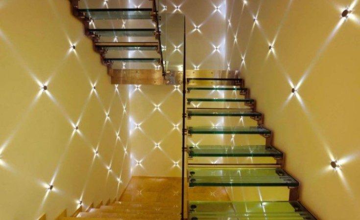 (+65 фото) Точечные светильники в интерьере 45 фото