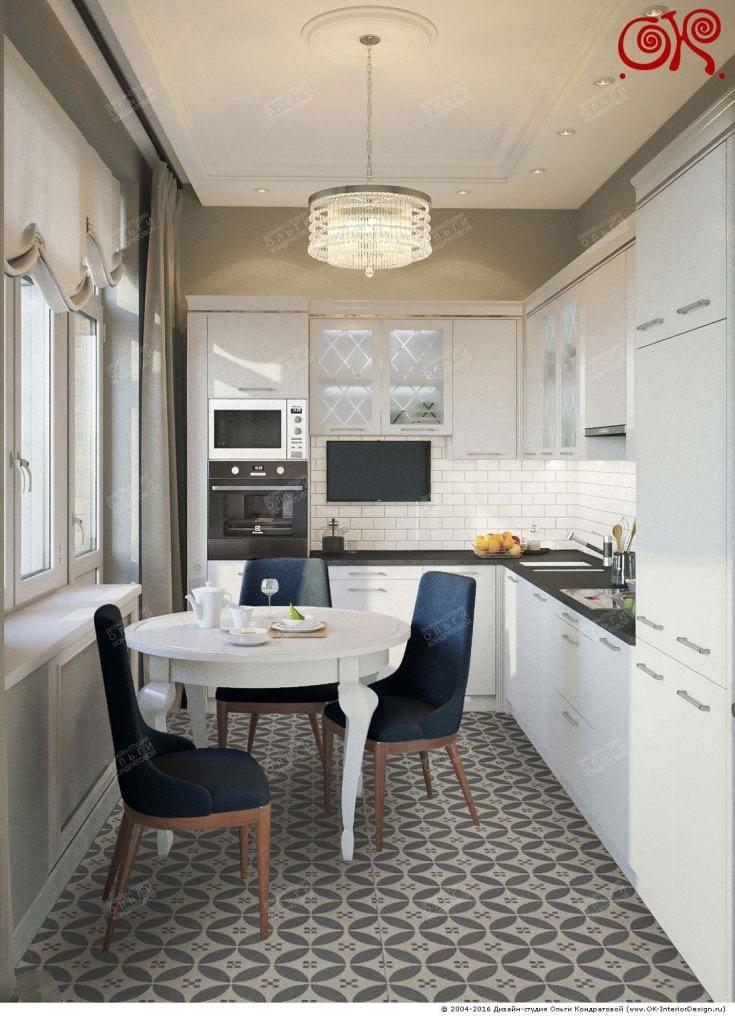 Кухня фото интерьер для людей со средним достатком