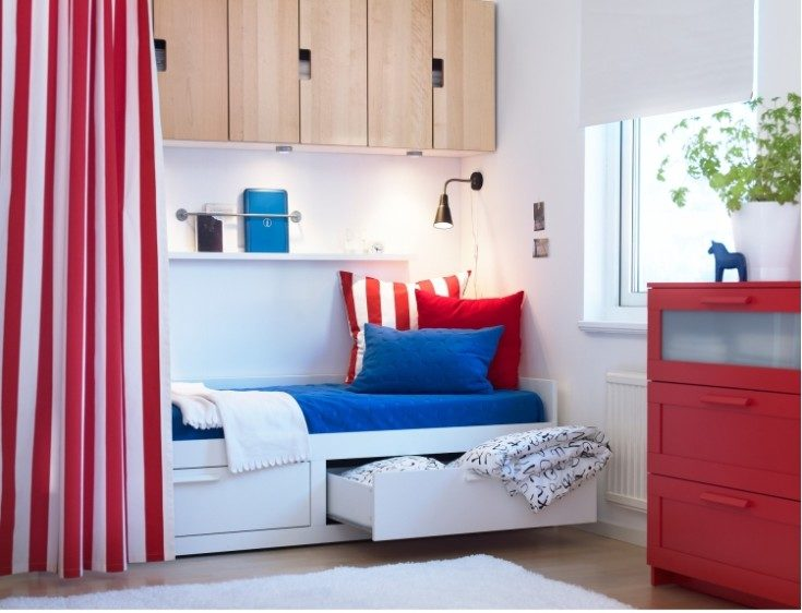 (+120 фото) Детская кроватка икеа: как разместить, чем декорировать