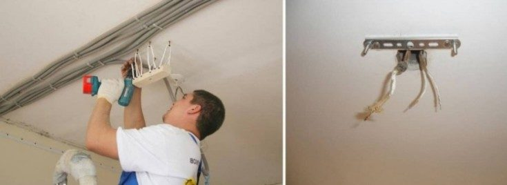 (+100 фото) Люстры для натяжных потолков: фото-примеры в разных стилях интерьера