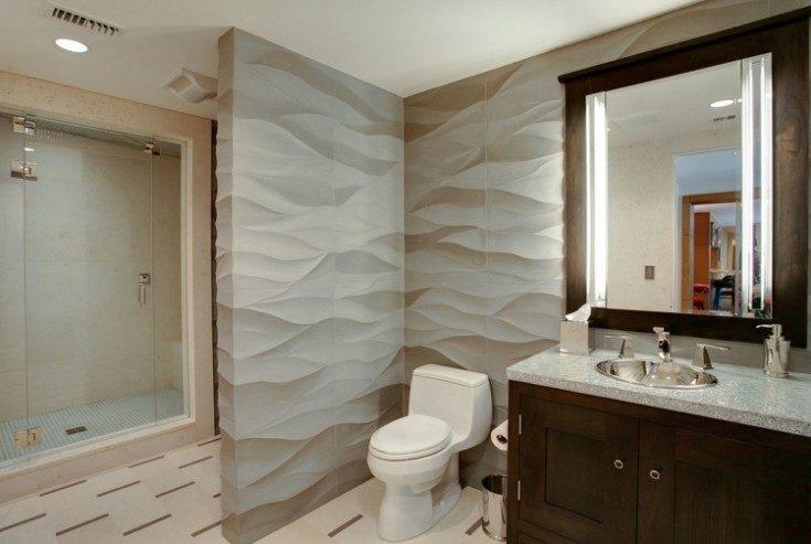 (+79 фото) Отделка ванной комнаты пластиковыми панелями 79 фото