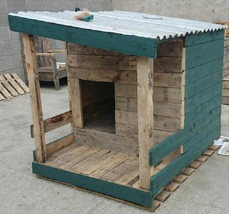 (+135 фото) Будка для собаки своими руками пошаговые инструкции: размеры и утепление, этапы работ, интересные идеи