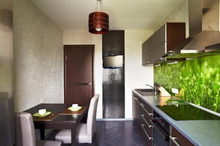 (+100 фото) Дизайн кухни 9 кв.м