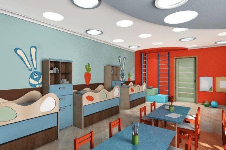 Дизайн детского сада современные идеи