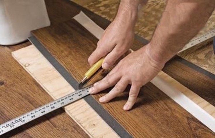 (+60 фото) Виниловая плитка для пола и стен
