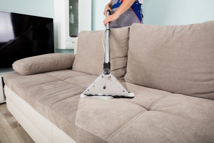 Как почистить светлый диван в домашних условиях