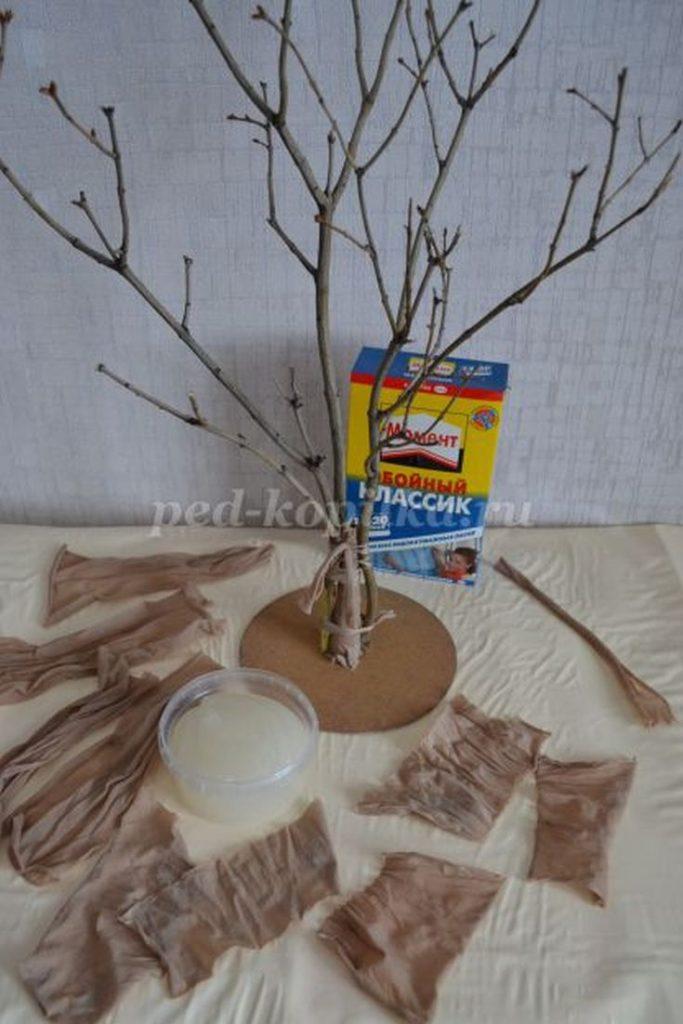 (+78 фото) Как сделать большое дерево для интерьера своими руками