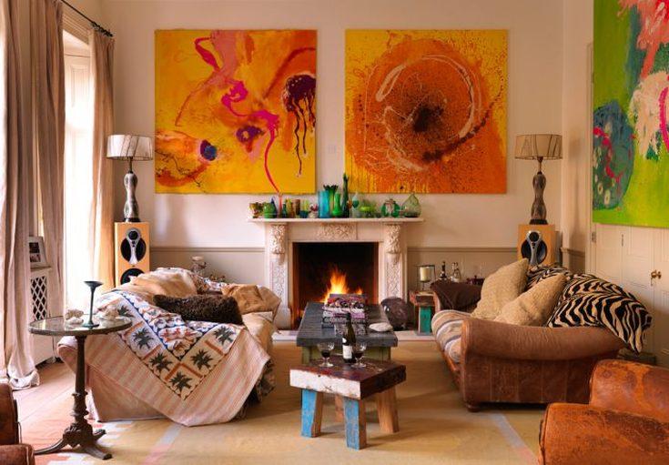 Cовременнный стиль бохо в интерьере квартиры
