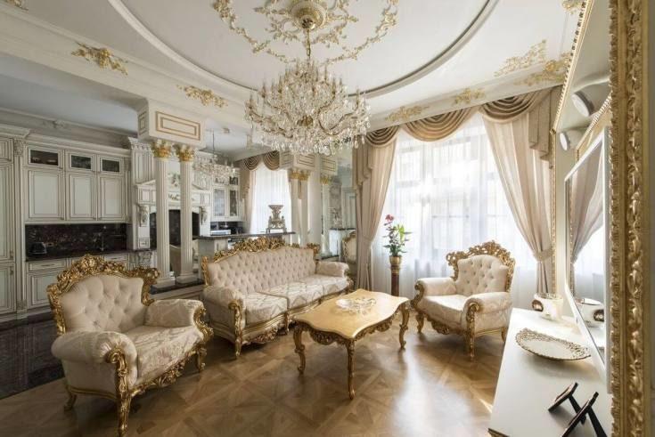(+60 фото) Стиль рококо в интерьере квартиры