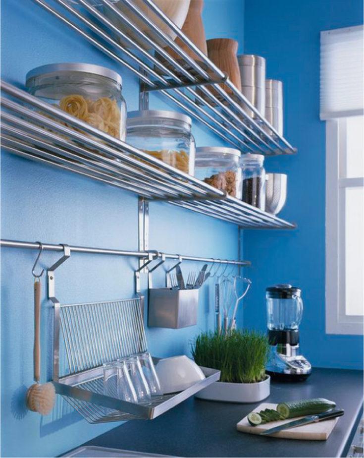(+55 фото) Рейлинги для кухни фото в интерьере