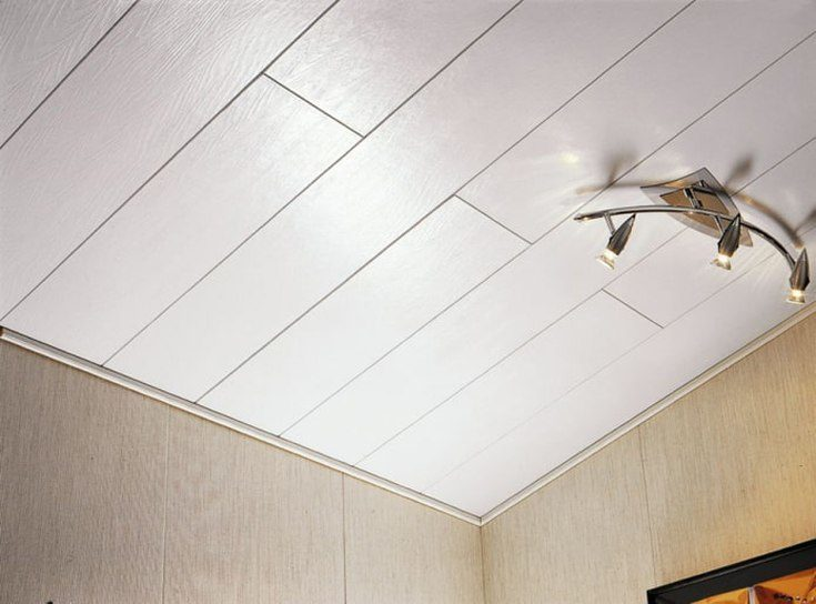 Потолок в коридоре дизайн