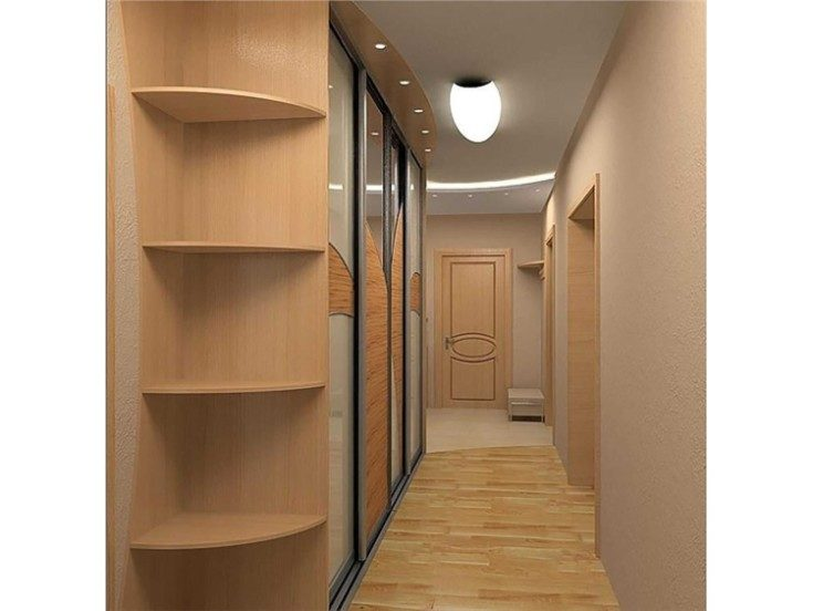 Варианты дизайна для узкого коридора в хрущёвке