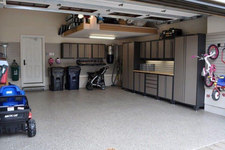 (+73 фото) Отделка гаража внутри своими руками фото