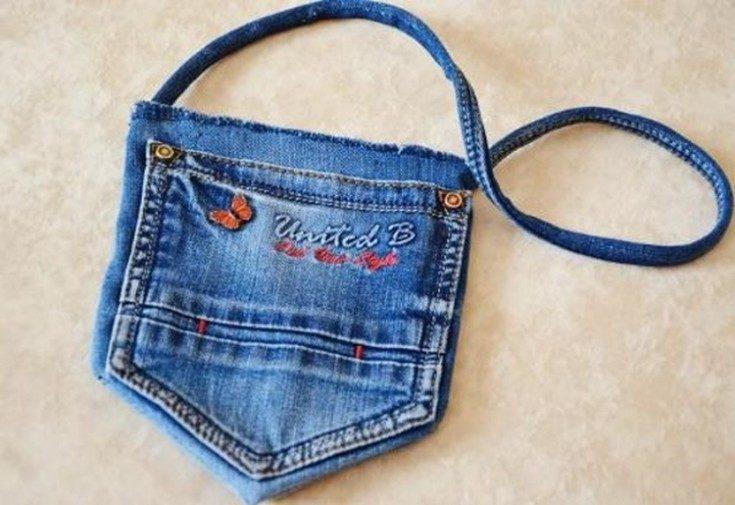 (+84 фото) Сумки из старых джинсов своими руками выкройки
