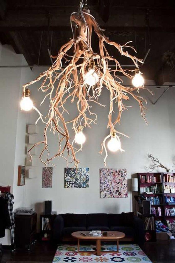 Декор из дерева в дизайне интерьера