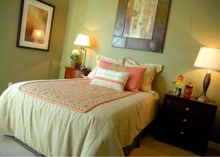 Таблица лучшие сочетания цветов в интерьере спальни фото