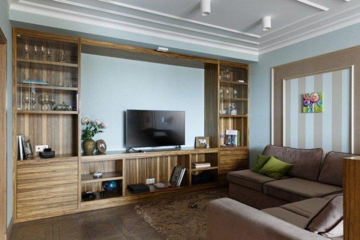 (+98 фото) Стенка в гостиную: виды и идеи использования 98 фото