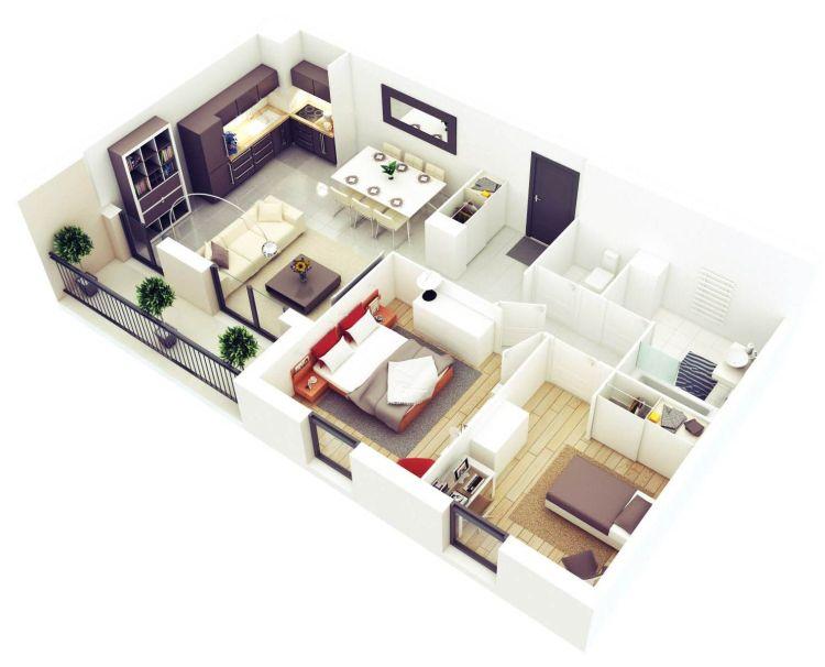Схемы и фото планировок 3х комнатных квартир удачные решения