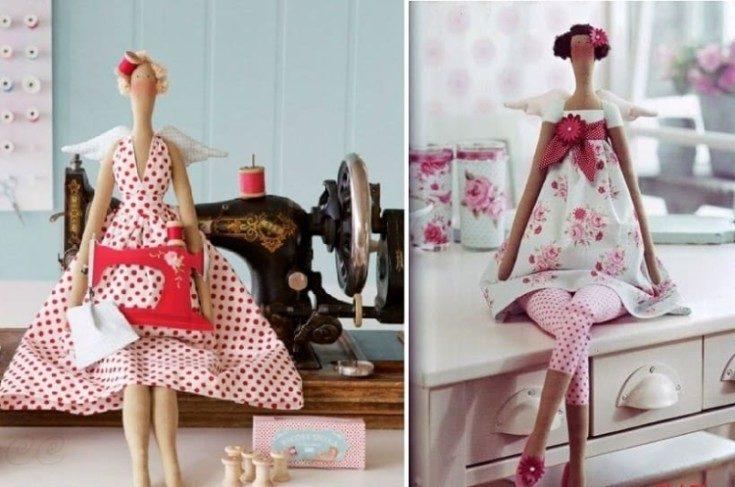 (+101 фото) Как сшить куклу своими руками для начинающих