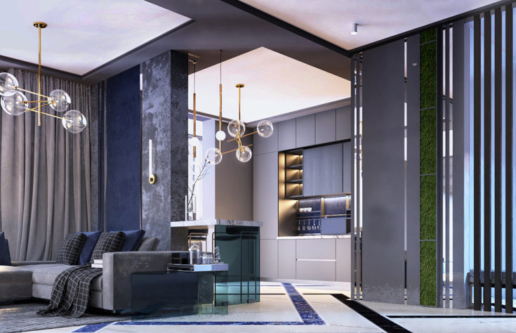 Дизайн интерьера квартиры в современном стиле реальные фотографии