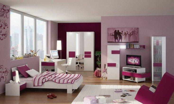 Как правильно оформить комнаты девушки в современном стиле с фото-примерами