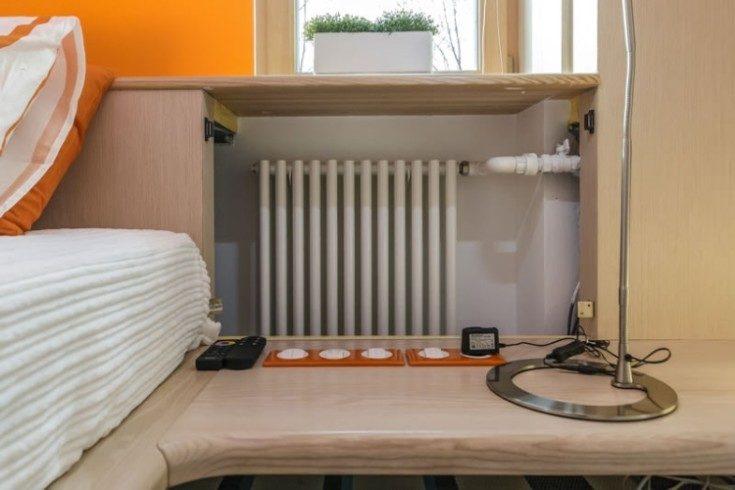 Как закрыть батарею отопления: идеи и вид в интерьере