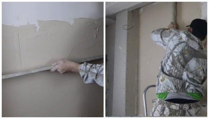 (+26 фото) Как штукатурить стены без маяков своими руками