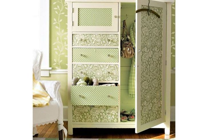 Декор шкафа своими руками фото идеи советы и инструкции