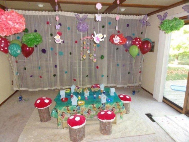(+135 фото) Как украсить комнату на день рождения ребёнка: 105 фото