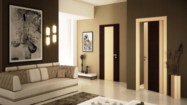 Сочетание цвета пола и дверей фото