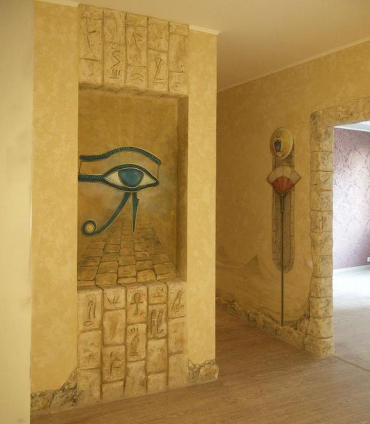 (+45 фото) Египетский стиль в интерьере
