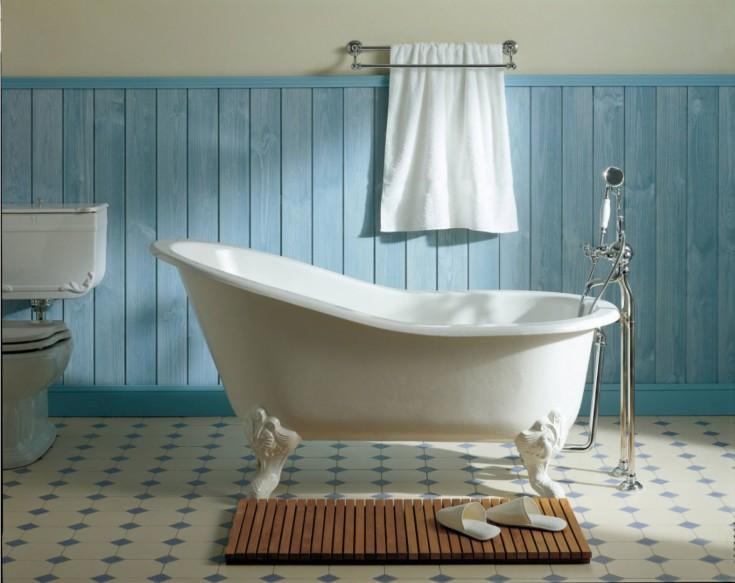 Дизайн ванной комнаты совмещённой с туалетом