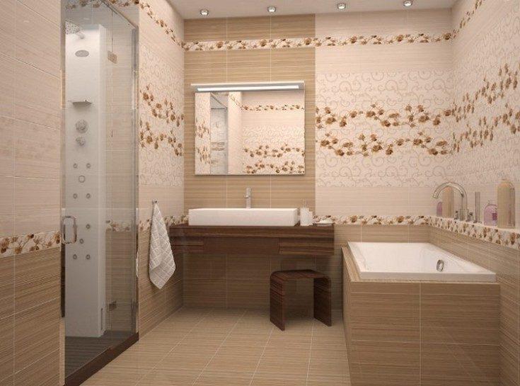 (+56 фото) Грамотная раскладка плитки в ванной