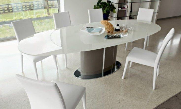 Стеклянные столы для кухни с фотопечатью