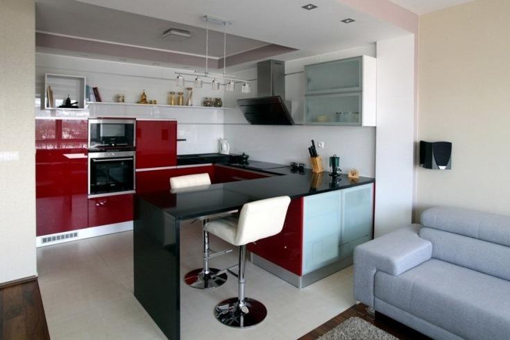 (+45 фото) Кухня 20 кв м планировка с диваном