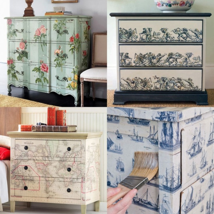 ( 113 фото) Идеи переделки старой мебели своими руками почти без затрат